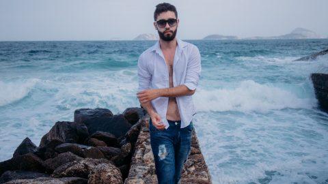 Find Fashionable Men's Beachwear That He'll Love